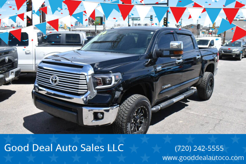 2016 Toyota Tundra for sale at Good Deal Auto Sales LLC in Denver CO
