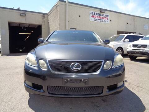 2007 Lexus GS 350 for sale at ACH AutoHaus in Dallas TX