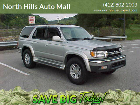 2001 Toyota 4Runner for sale at North Hills Auto Mall in Pittsburgh PA