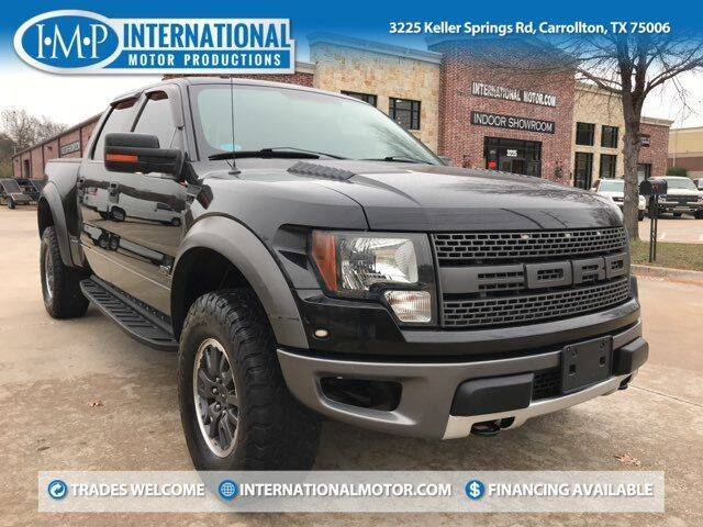 2011 Ford F-150 for sale at International Motor Productions in Carrollton TX