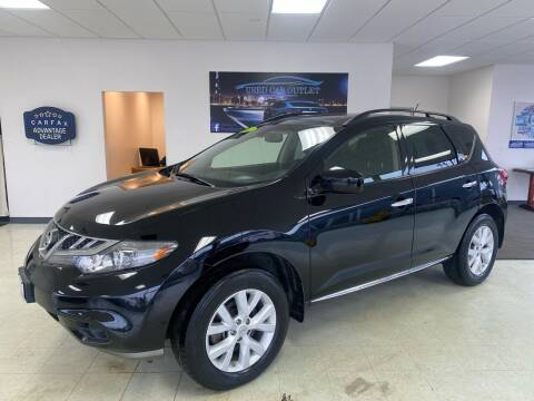 2012 Nissan Murano for sale at Used Car Outlet in Bloomington IL