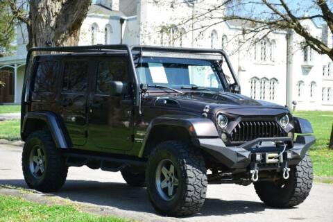 2013 Jeep Wrangler Unlimited for sale at Digital Auto in Lexington KY