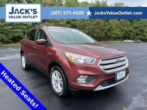 2018 Ford Escape for sale at Jack's Value Outlet in Saco ME