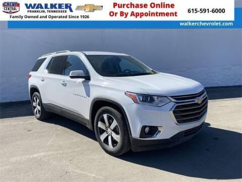 2020 Chevrolet Traverse for sale at WALKER CHEVROLET in Franklin TN