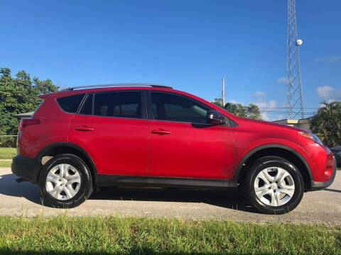 2014 Toyota RAV4 for sale at Ultimate Car Solutions in Pompano Beach FL