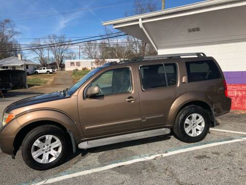 2005 Nissan Pathfinder for sale at Rick's Cycle in Valdese NC