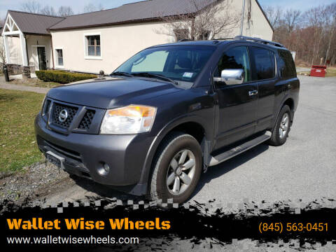 2010 Nissan Armada for sale at Wallet Wise Wheels in Montgomery NY