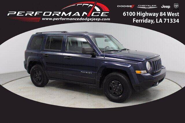 2016 Jeep Patriot for sale at Performance Dodge Chrysler Jeep in Ferriday LA