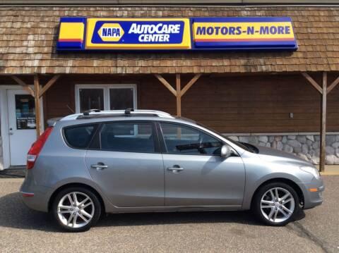 2012 Hyundai Elantra Touring for sale at MOTORS N MORE in Brainerd MN