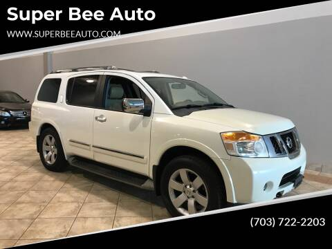 2013 Nissan Armada for sale at Super Bee Auto in Chantilly VA