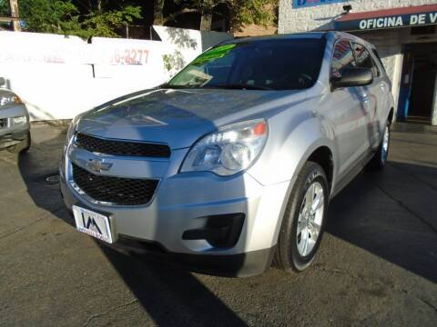 2010 Chevrolet Equinox for sale at IBARRA MOTORS INC in Cicero IL