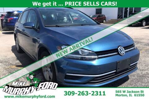 2019 Volkswagen Golf SportWagen for sale at Mike Murphy Ford in Morton IL