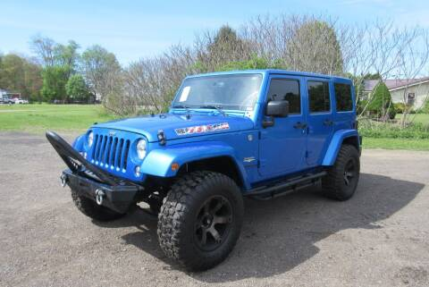 2015 Jeep Wrangler Unlimited for sale at Clearwater Motor Car in Jamestown NY
