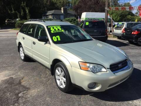 2007 Subaru Outback for sale at McNamara Auto Sales - Dover Lot in Dover PA