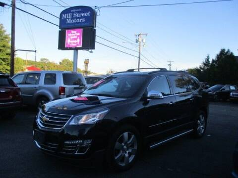 2015 Chevrolet Traverse for sale at Mill Street Motors in Worcester MA