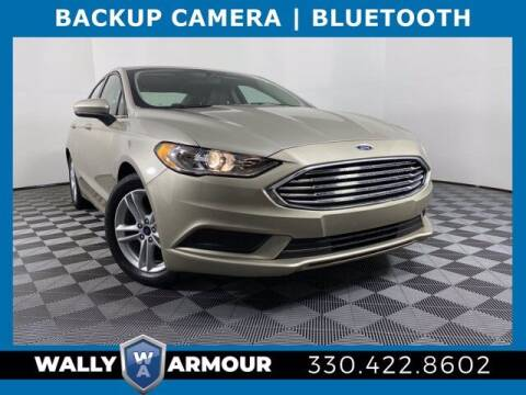2018 Ford Fusion for sale at Wally Armour Chrysler Dodge Jeep Ram in Alliance OH