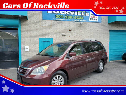 2008 Honda Odyssey for sale at Cars Of Rockville in Rockville MD