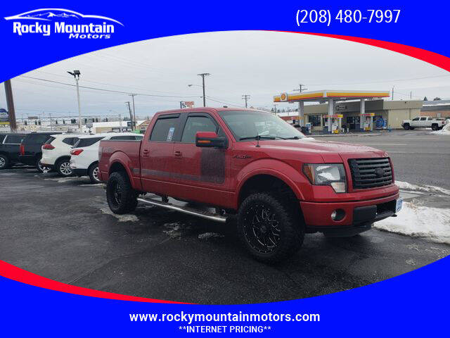 2012 Ford F-150 for sale at Rocky Mountain Motors in Idaho Falls ID
