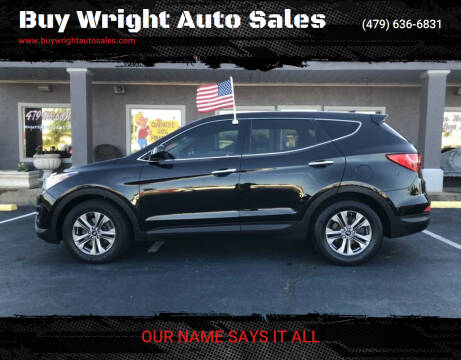 2016 Hyundai Santa Fe Sport for sale at Buy Wright Auto Sales in Rogers AR