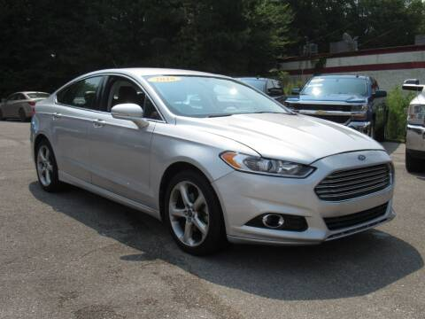 2016 Ford Fusion for sale at Discount Auto Sales in Pell City AL