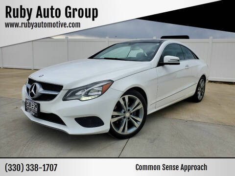 2015 Mercedes-Benz E-Class for sale at Ruby Auto Group in Hudson OH