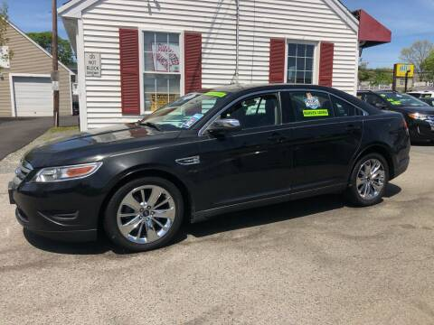 2011 Ford Taurus for sale at Crown Auto Sales in Abington MA