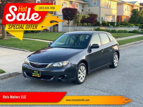 2008 Subaru Impreza for sale at Reis Motors LLC in Lawrence NY