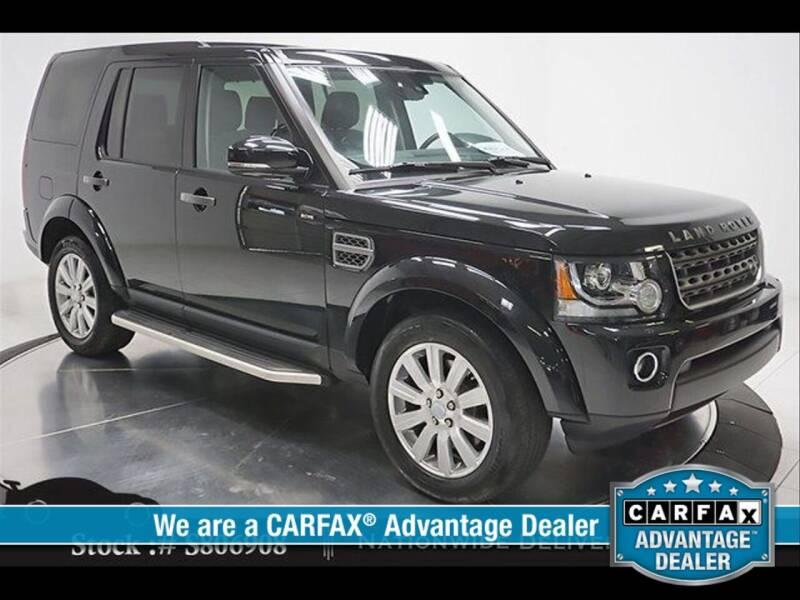 2016 Land Rover LR4 for sale at RoseLux Motors LLC in Schnecksville PA