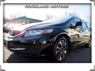 2013 Honda Civic for sale at Rockland Automall - Rockland Motors in West Nyack NY