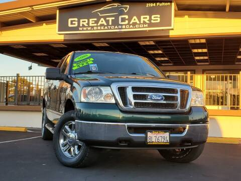 2008 Ford F-150 for sale at Great Cars in Sacramento CA