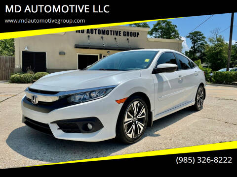 2018 Honda Civic for sale at MD AUTOMOTIVE LLC in Slidell LA