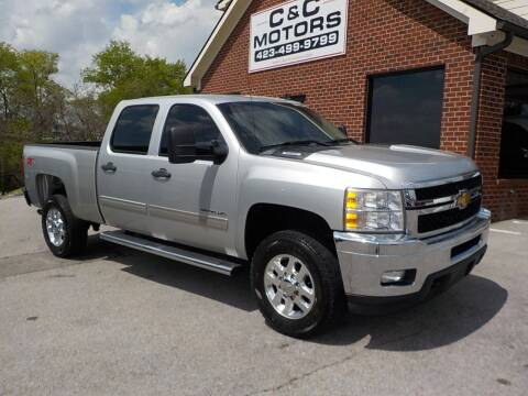 2012 Chevrolet Silverado 2500HD for sale at C & C MOTORS in Chattanooga TN