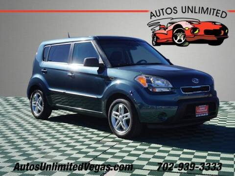2011 Kia Soul for sale at Autos Unlimited in Las Vegas NV