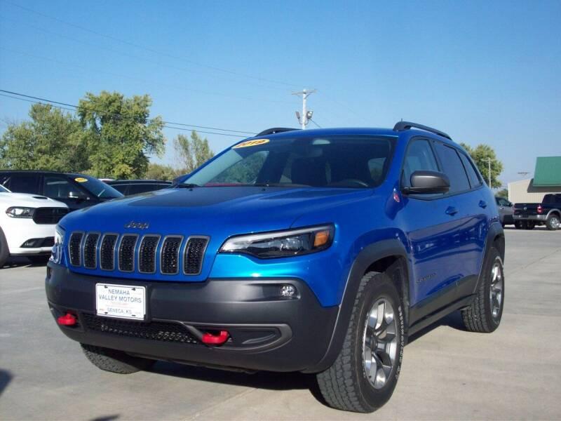 2019 Jeep Cherokee for sale at Nemaha Valley Motors in Seneca KS