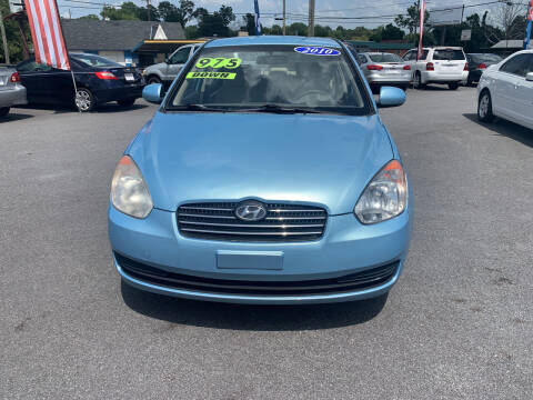 2010 Hyundai Accent for sale at Cars for Less in Phenix City AL