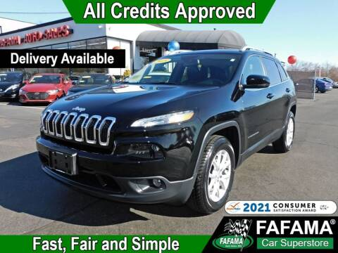2018 Jeep Cherokee for sale at FAFAMA AUTO SALES Inc in Milford MA