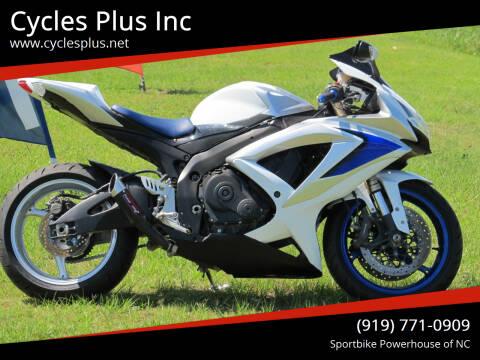 2008 Suzuki GSX-R600 for sale at Cycles Plus Inc in Garner NC
