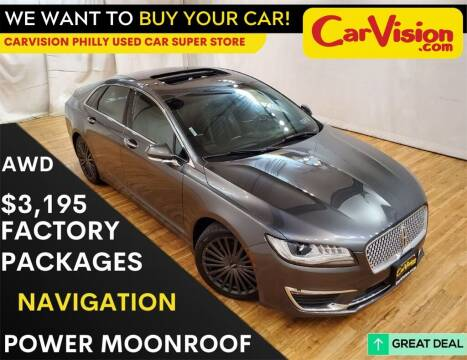 2017 Lincoln MKZ for sale at Car Vision Mitsubishi Norristown - Car Vision Philly Used Car SuperStore in Philadelphia PA