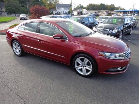 2013 Volkswagen CC for sale at BETTER BUYS AUTO INC in East Windsor CT