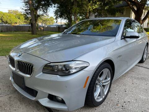 2016 BMW 5 Series for sale at RoMicco Cars and Trucks in Tampa FL
