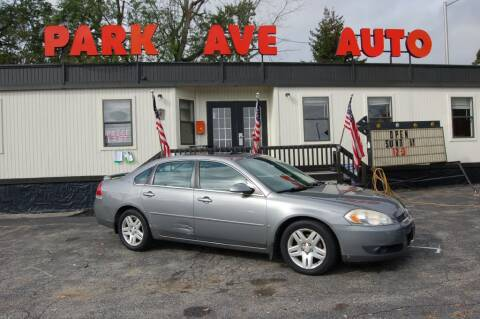 2006 Chevrolet Impala for sale at Park Ave Auto Inc. in Worcester MA