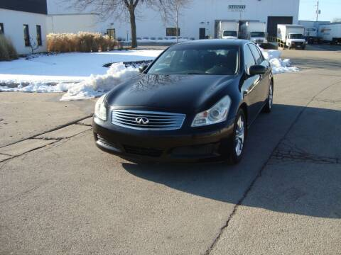 2008 Infiniti G35 for sale at ARIANA MOTORS INC in Addison IL