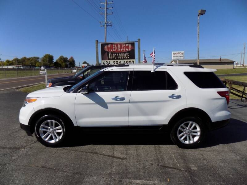 2014 Ford Explorer for sale at MYLENBUSCH AUTO SOURCE in O` Fallon MO