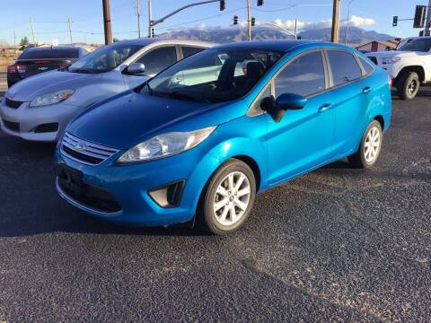 2012 Ford Fiesta for sale at SPEND-LESS AUTO in Kingman AZ