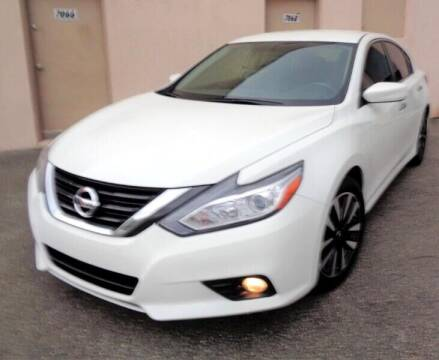 2018 Nissan Altima for sale at Selective Motor Cars in Miami FL