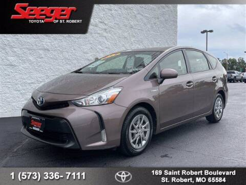 2016 Toyota Prius v for sale at SEEGER TOYOTA OF ST ROBERT in Saint Robert MO