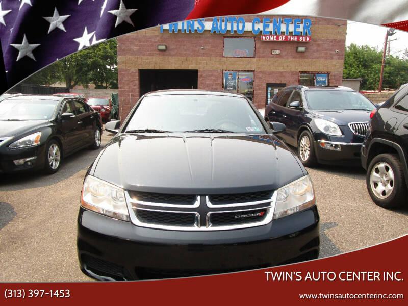2013 Dodge Avenger for sale at Twin's Auto Center Inc. in Detroit MI