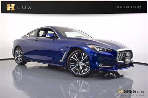 2019 Infiniti Q60 for sale at HGREG LUX EXCLUSIVE MOTORCARS in Pompano Beach FL
