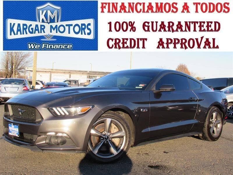 2016 Ford Mustang for sale at Kargar Motors of Manassas in Manassas VA