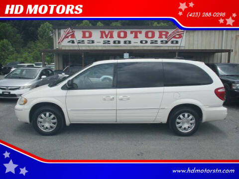 2006 Chrysler Town and Country for sale at HD MOTORS in Kingsport TN